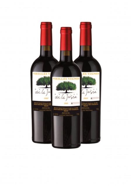 3 bouteilles de vieux millésimes Domaine de la Jasse
